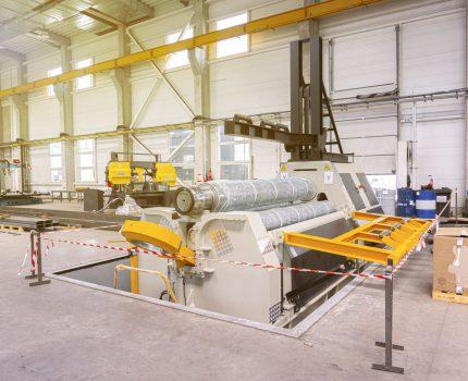 Instalacja największej walcarki Sahinler w Europie!