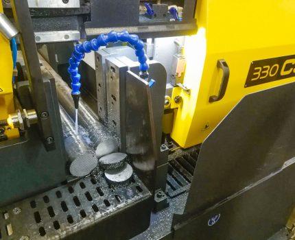 Zautomatyzowane cięcie elementów stalowych
